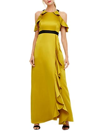 Phase Eight Cezanna Maxi Dress, Chartreuse