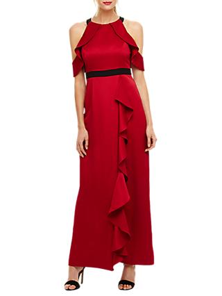 Phase Eight Cezanna Maxi Dress, Scarlet