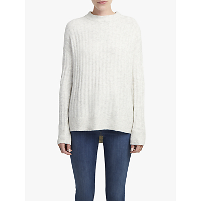 Image of French Connection Flossy Jumper, Light Oatmeal Melange