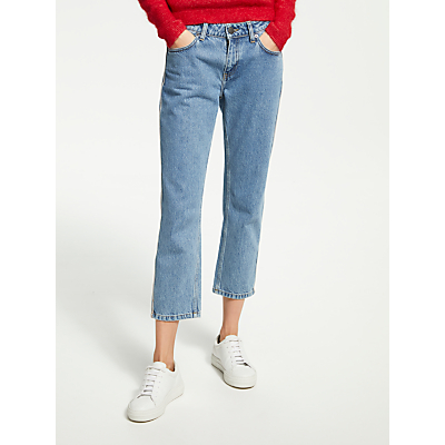 Just Female Rock Tape Jeans, Light Blue Denim