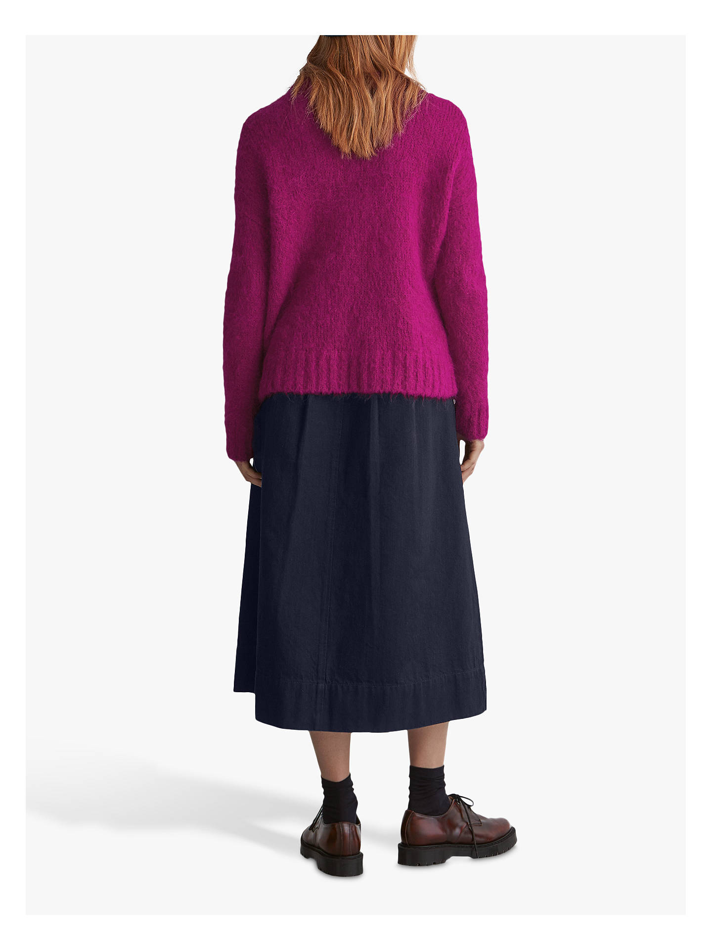 BuyToast Suri Alpaca Sweater, Magenta, L/XL Online at johnlewis.com
