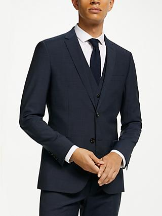 Kin Pindot Slim Fit Suit Jacket, Petrol