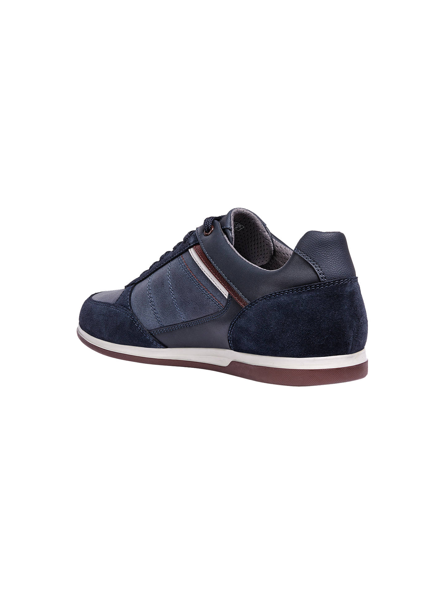 b9e53a6f320 ... Buy Geox Renan Breathable Trainers, Blue, 8 Online at johnlewis.com ...