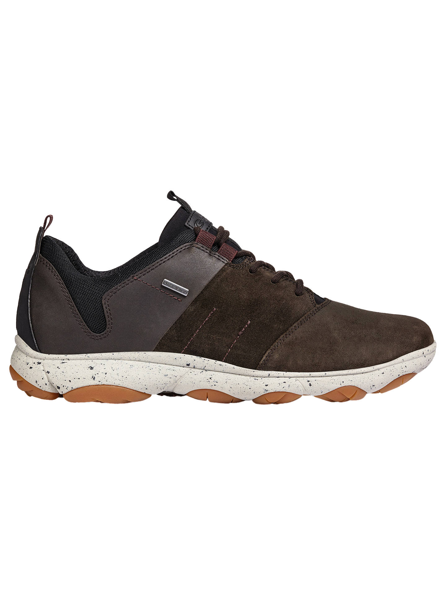 5bcefb47e5f8f Buy Geox Nebula 4x4 ABX Trainers, Brown, 6 Online at johnlewis.com ...