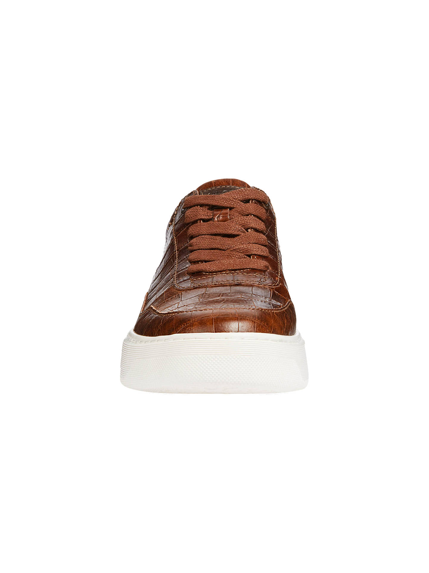 59b4d3128eb ... Buy Geox Deiven Breathable Trainers, Brown, 6 Online at johnlewis.com  ...
