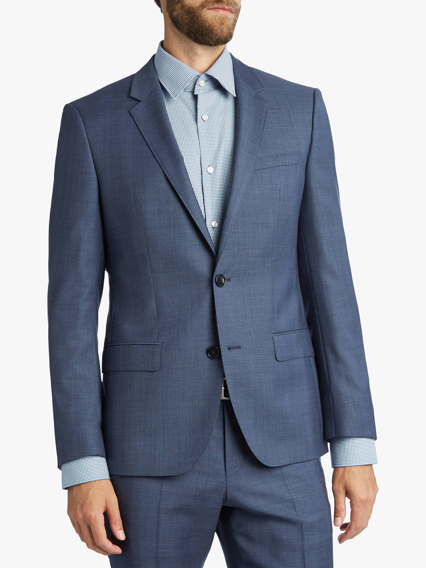 hugo by hugo boss henry suit jacket blue at john lewis partners