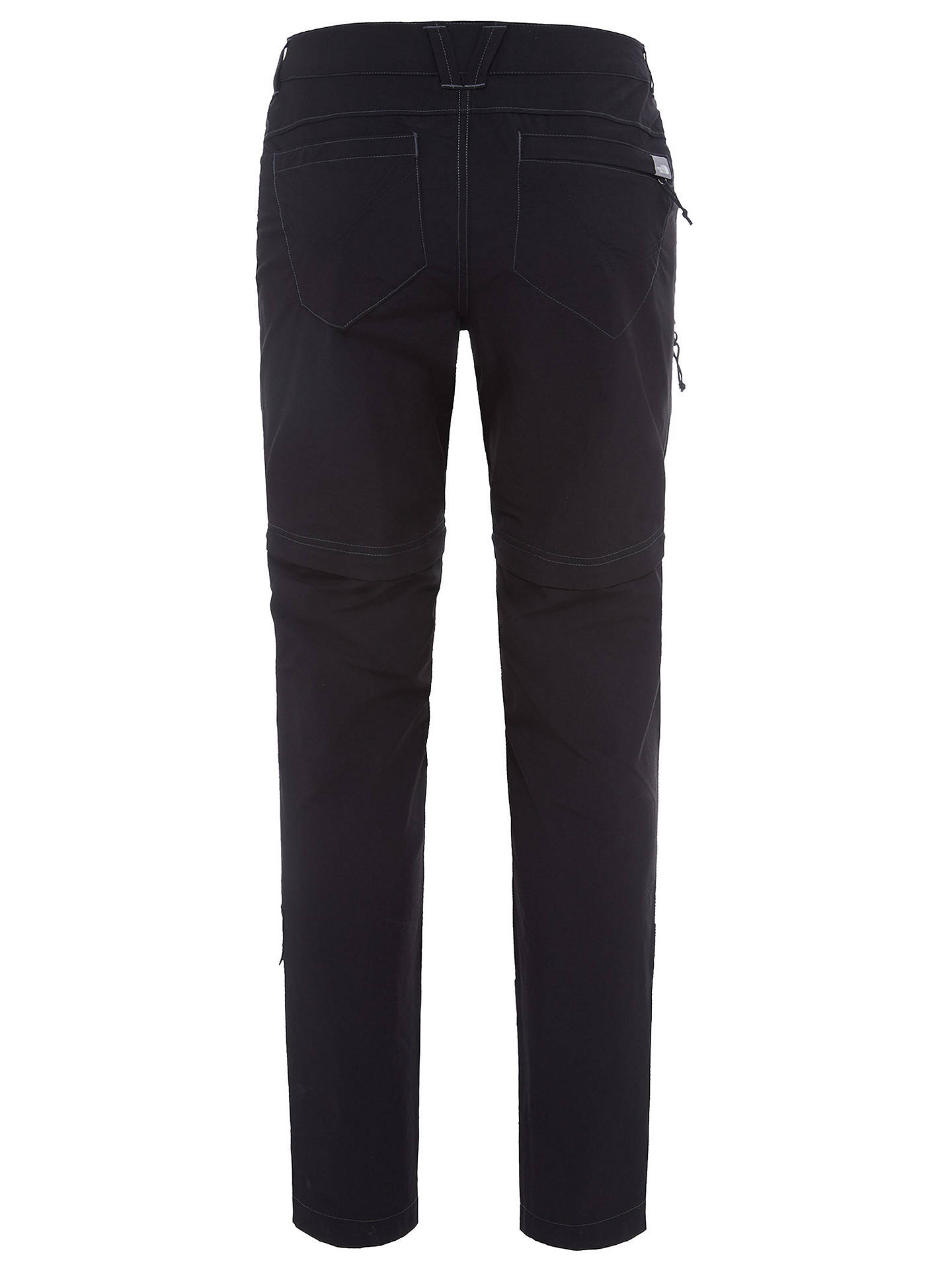 Buy The North Face Exploration Convertible Trousers, Black, L Online at johnlewis.com