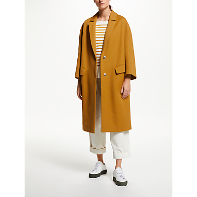 Kin Twill Cocoon Coat