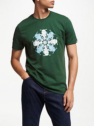Original Penguin Festive T-Shirt, Green