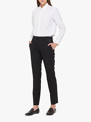 Gerard Darel Greta Wool Trousers, Black