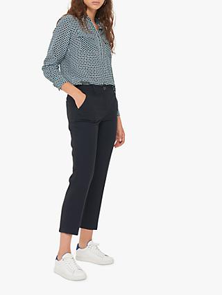 Gerard Darel Gladys Cropped Trousers, Blue