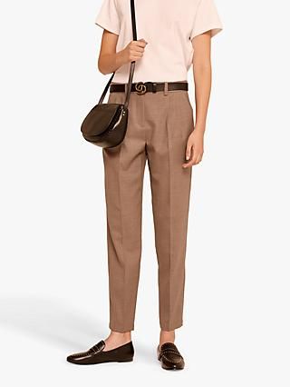 Gerard Darel Graham Wool Trousers, Camel