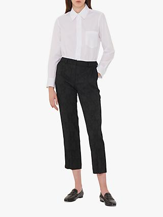 Gerard Darel Gil Jacquard Trousers, Black