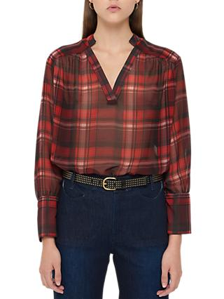 Gerard Darel Liane Blouse, Red