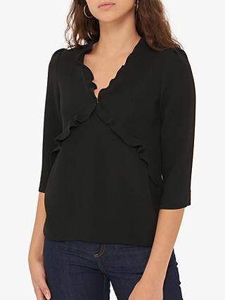 Gerard Darel Lenora Blouse, Black