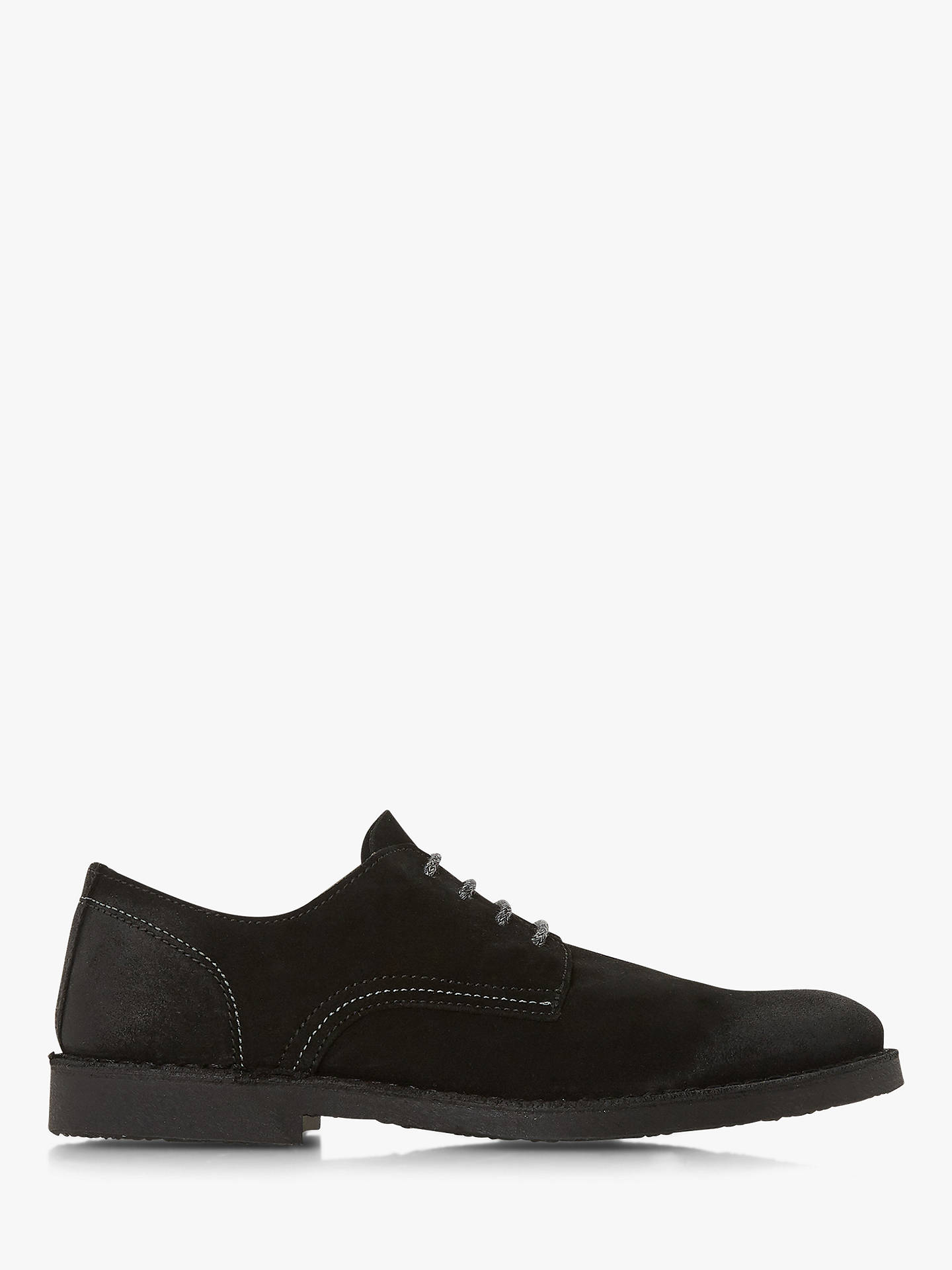 Buy Bertie Bowenn Suede Desert Shoes, Black, 6 Online at johnlewis.com