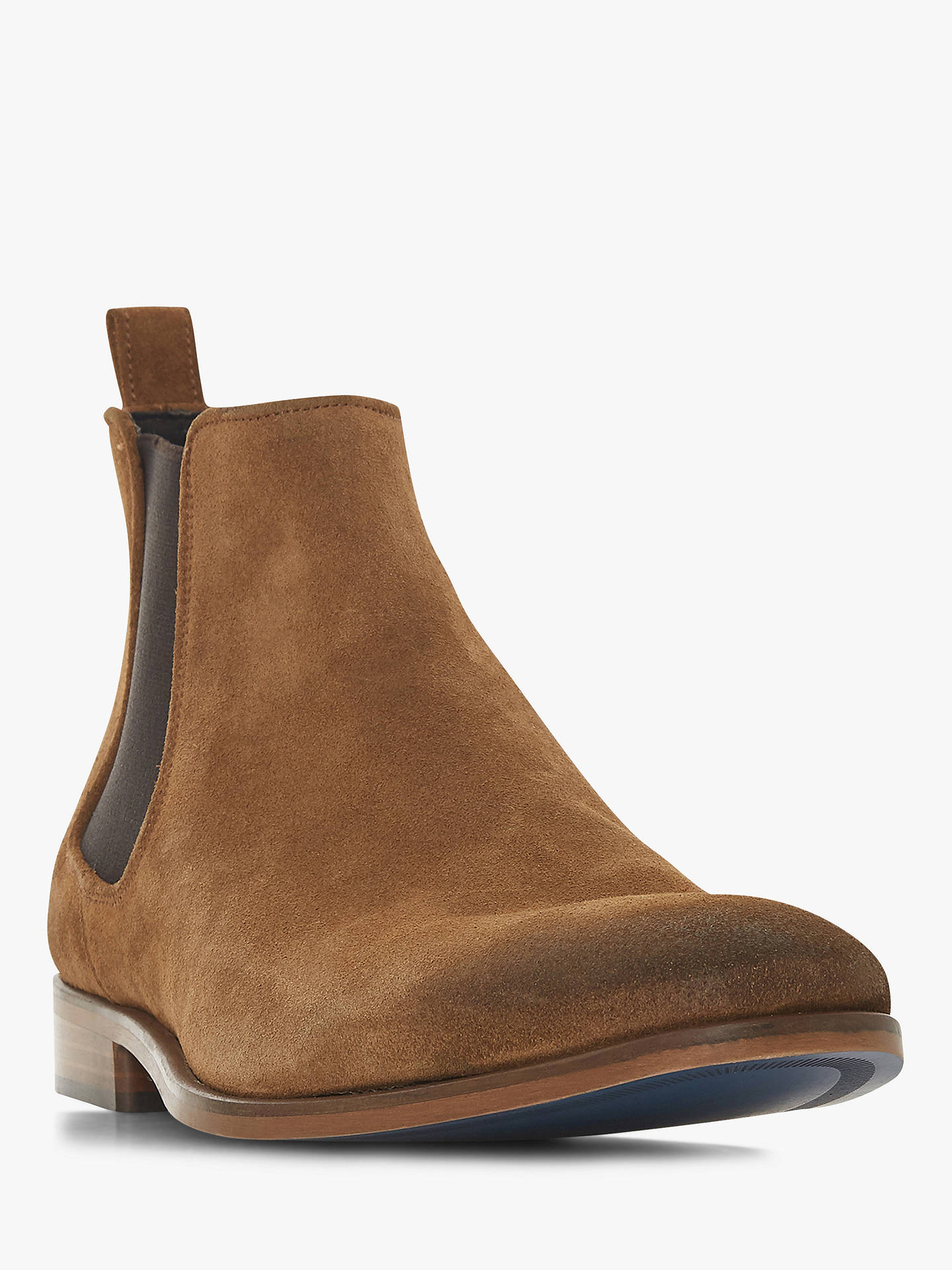 Buy Bertie Molecule Suede Chelsea Boots, Tan, 9 Online at johnlewis.com