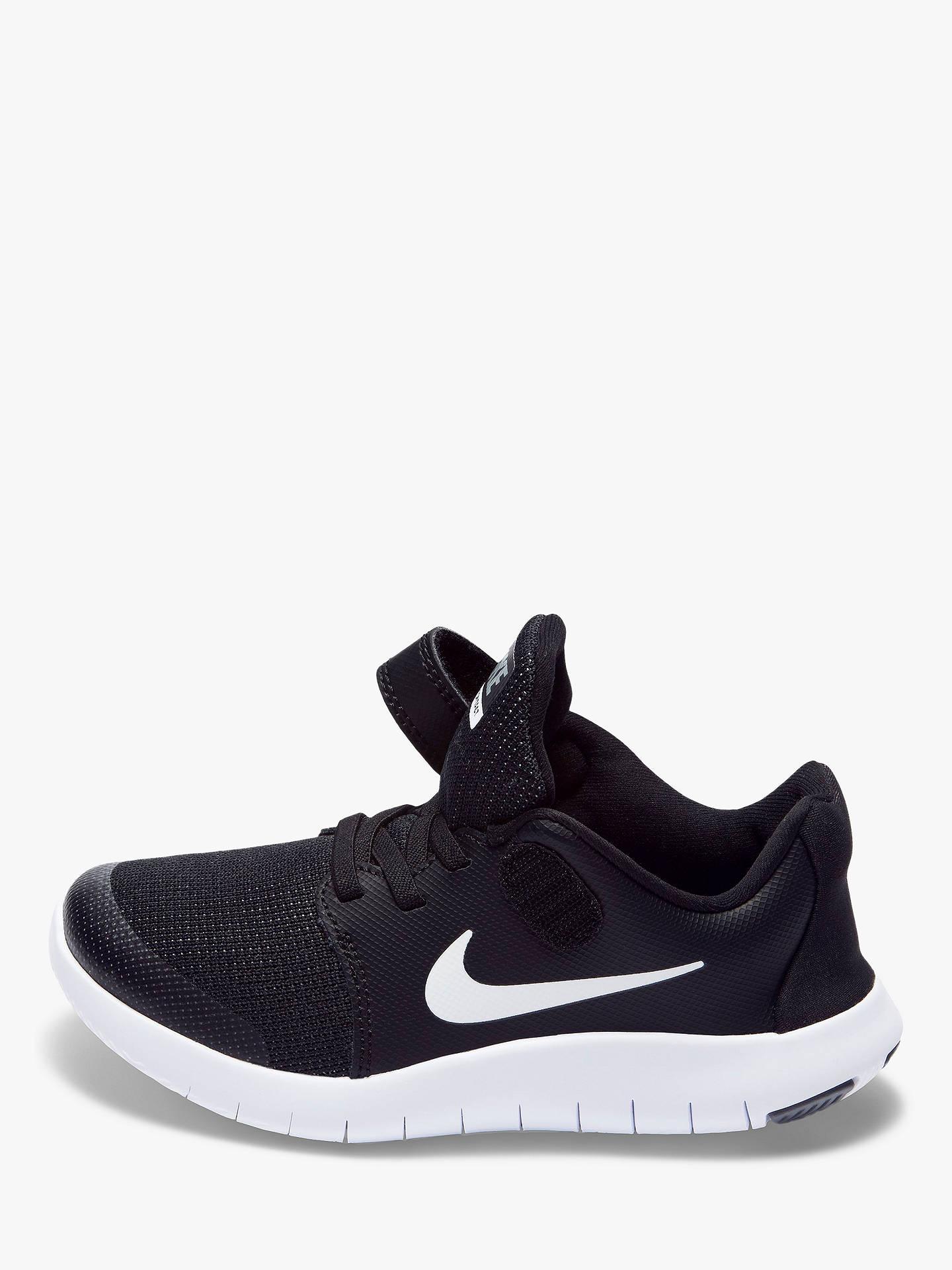 sacudir Necesito carrete  Nike Children's Flex Contact 2 Trainers, Black at John Lewis & Partners