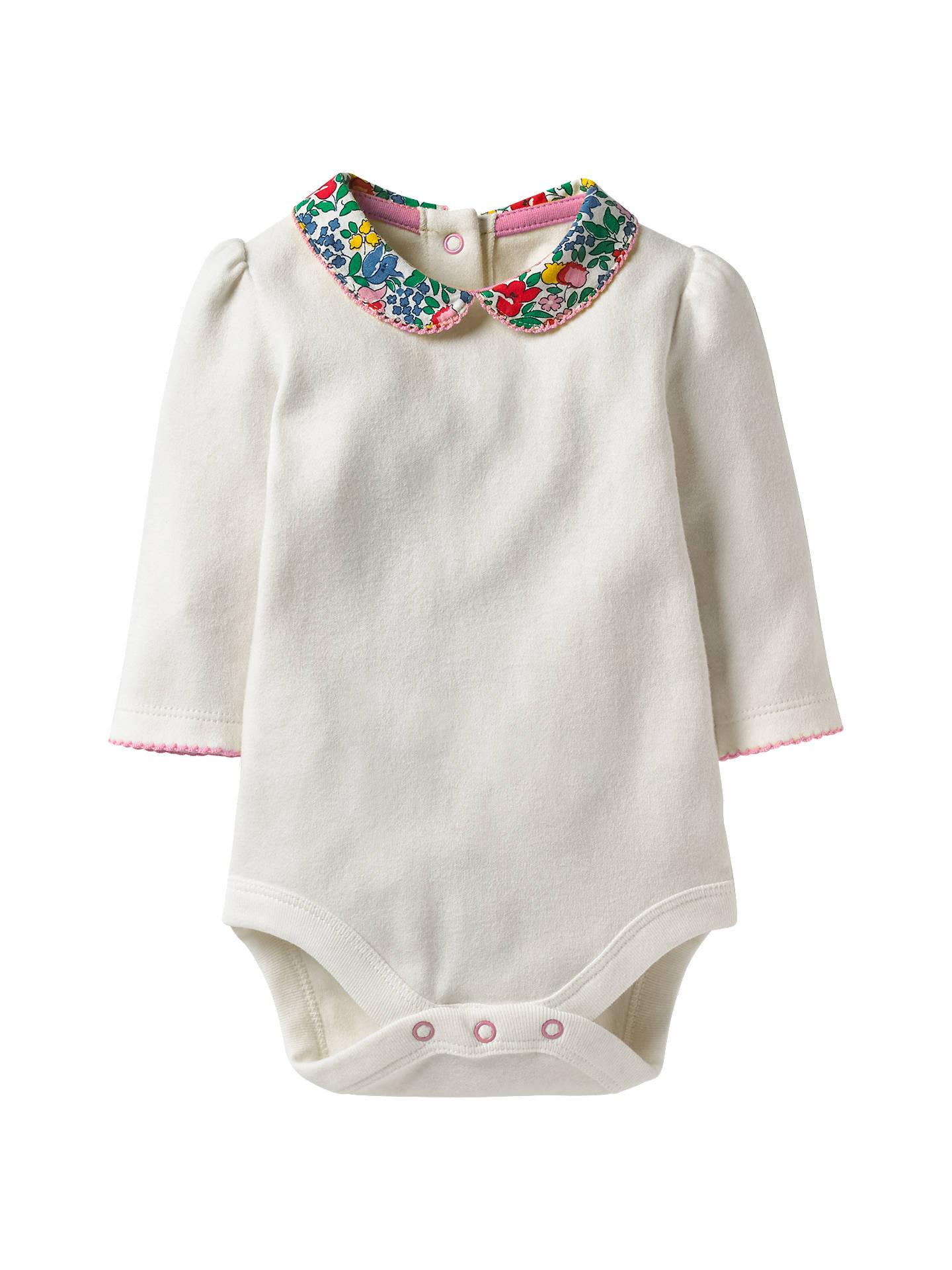 ef367120aa Buy Mini Boden Baby Floral Collar Bodysuit
