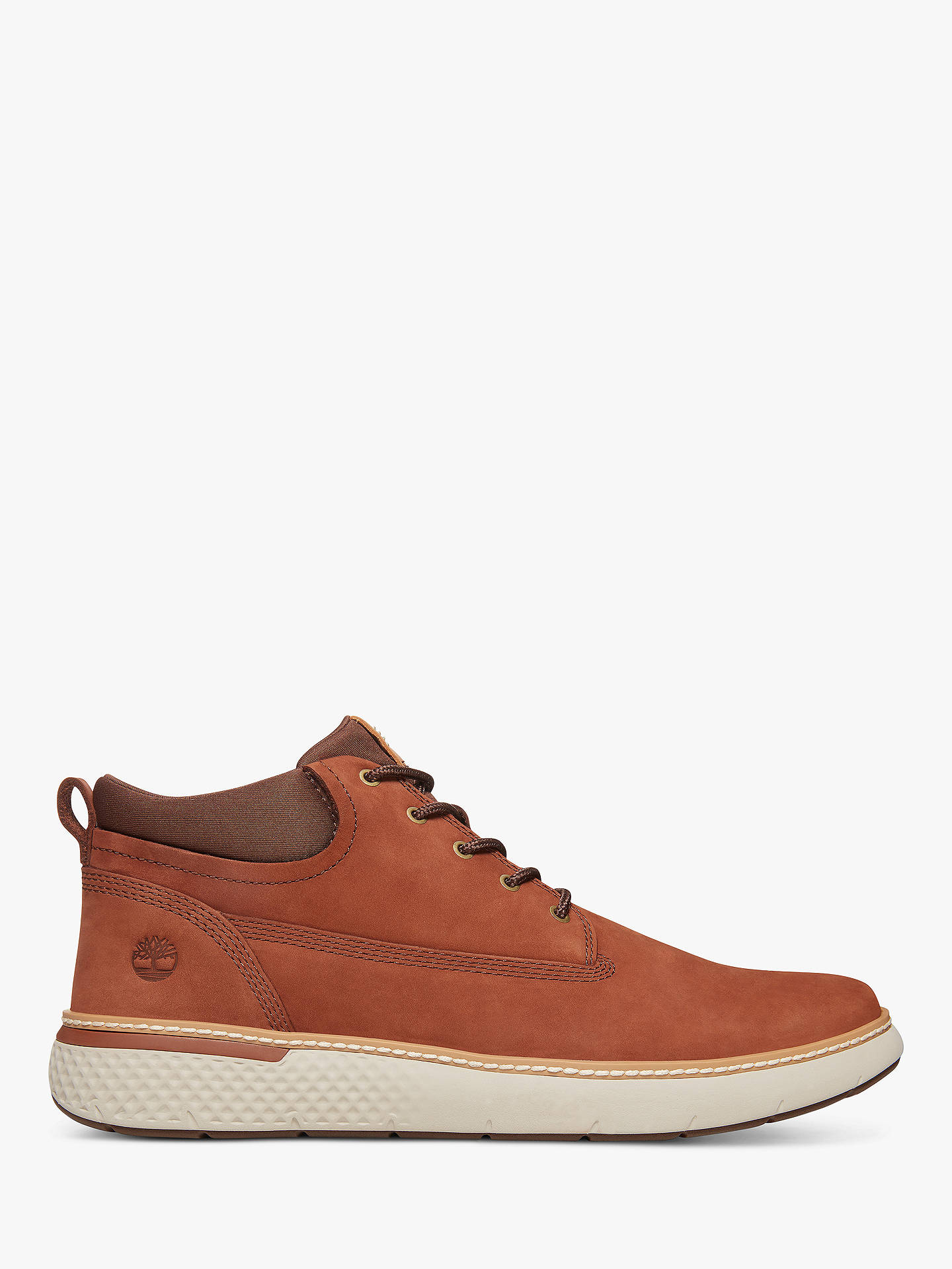 Buy Timberland Cross Mark Chukka Boots, Brown, 10 Online at johnlewis.com