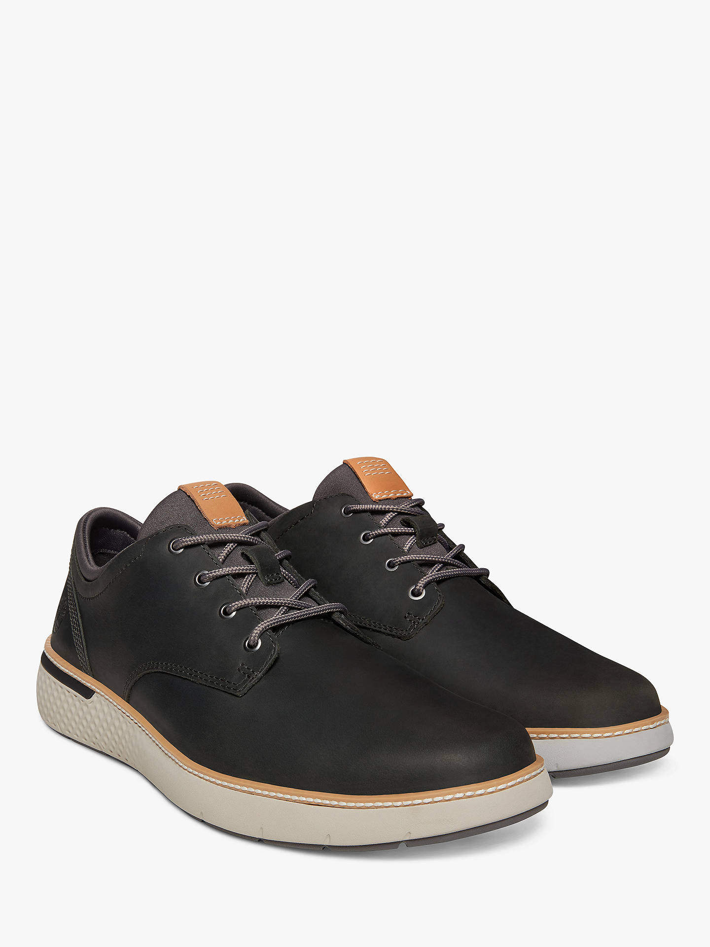 Buy Timberland Cross Mark Oxford Shoes, Pewter, 7 Online at johnlewis.com
