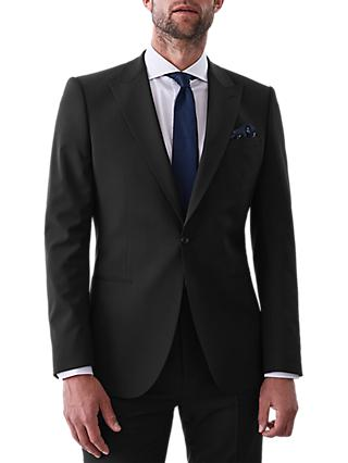Reiss Belief Modern Fit Travel Suit Jacket, Black