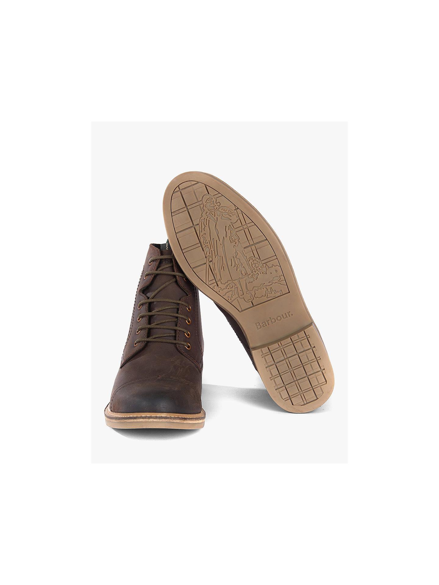da454ea834c Barbour Dalton Boots, Chocolate at John Lewis & Partners