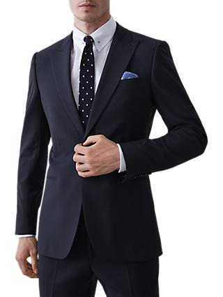 Reiss Belief Modern Fit Travel Suit Jacket, Navy