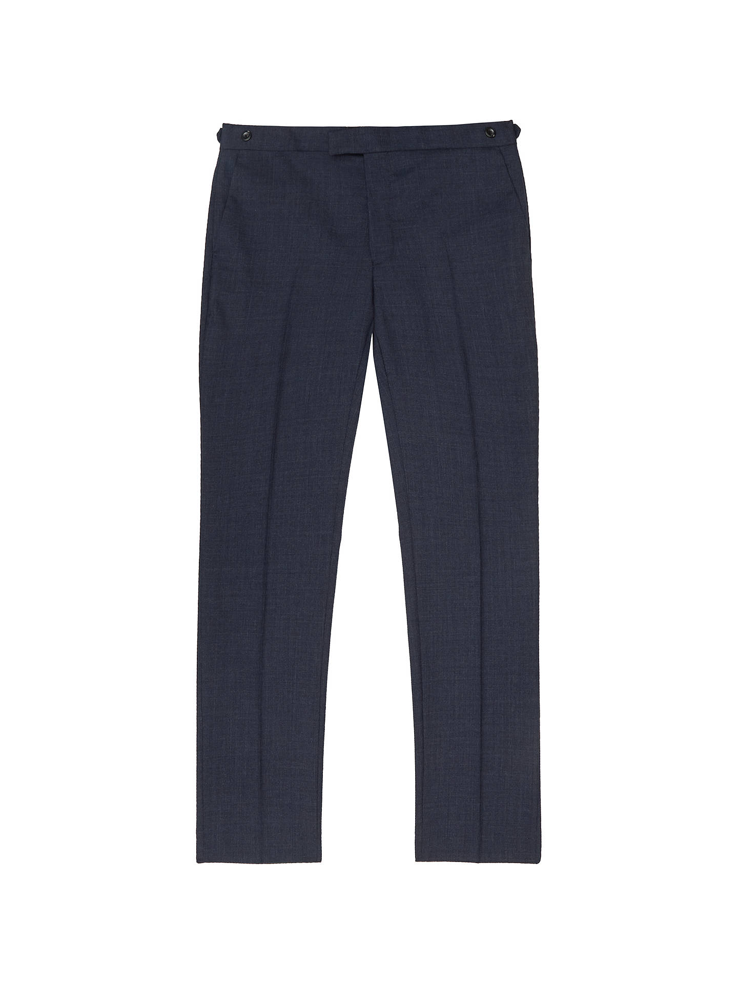 Buy Reiss Terrance Wool Slim Fit Suit Trousers, Airforce Blue, 30R Online at johnlewis.com