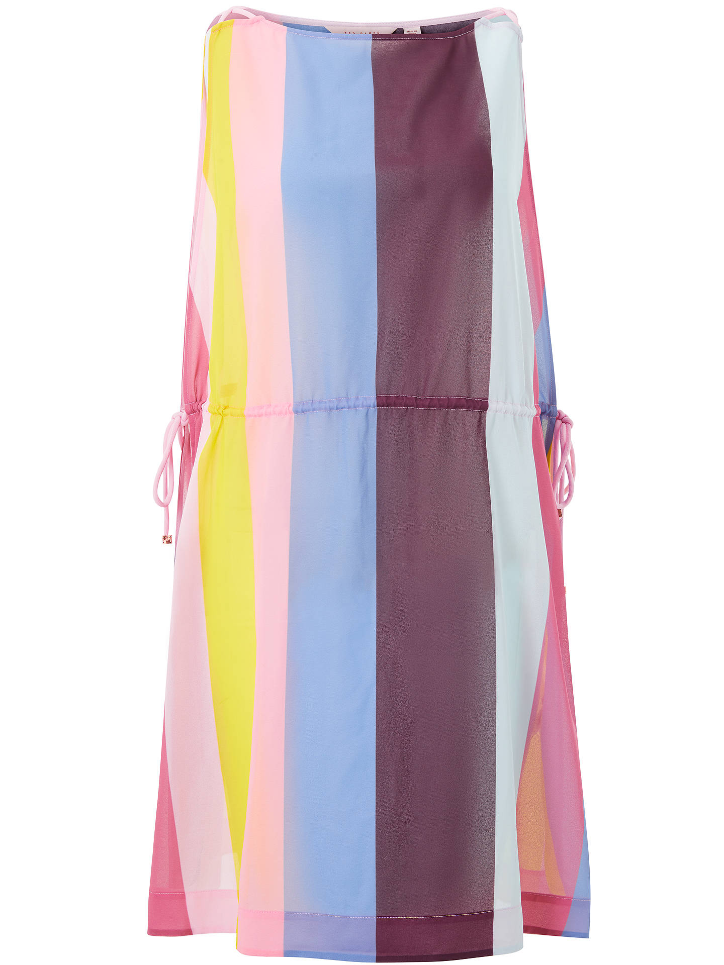 BuyTed Baker Penaree Rio Print Cover Up, Pink/Multi, S Online at johnlewis.com