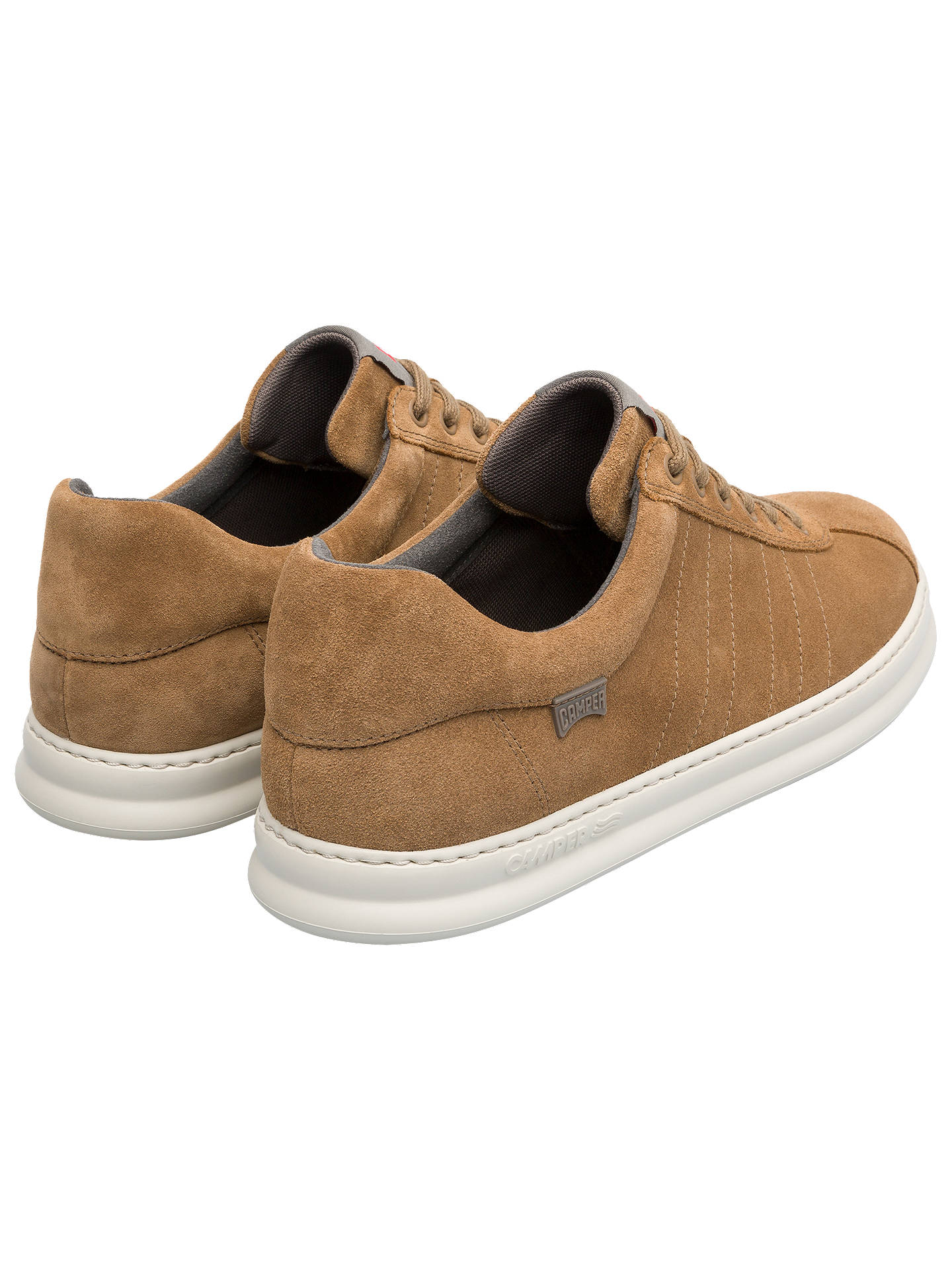 BuyCamper Runnerfour Pau Trainers, Brown/Khaki, 7 Online at johnlewis.com