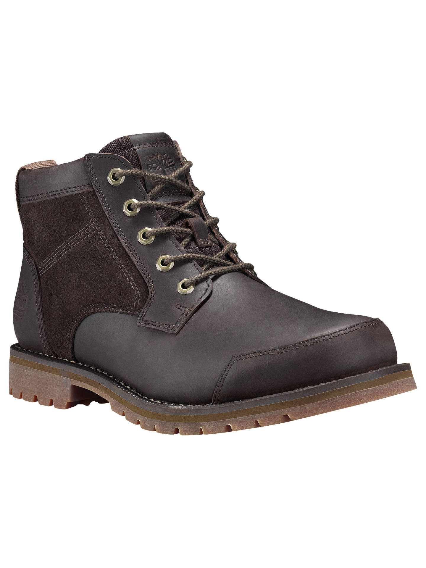 Buy Timberland Larchmont Waterproof Chukka Boots, Brown, 7 Online at johnlewis.com