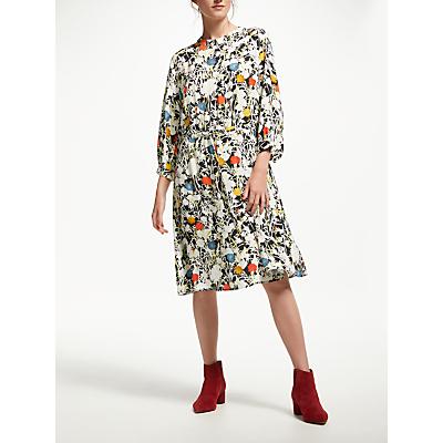 Finery Lola Printed Waist Tie Dress, Multi