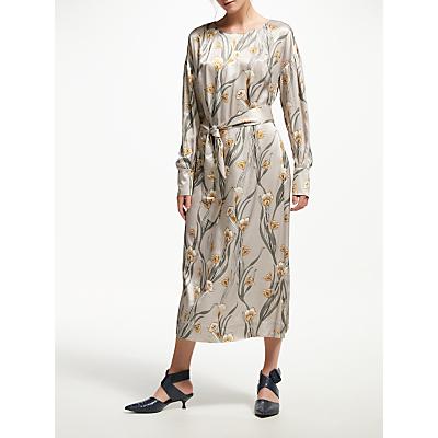 Finery Crocus Satin Dress, Multi