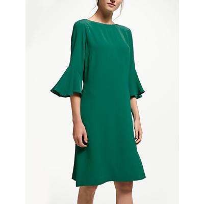 Finery Azalea Flute Sleeve Dress, Green