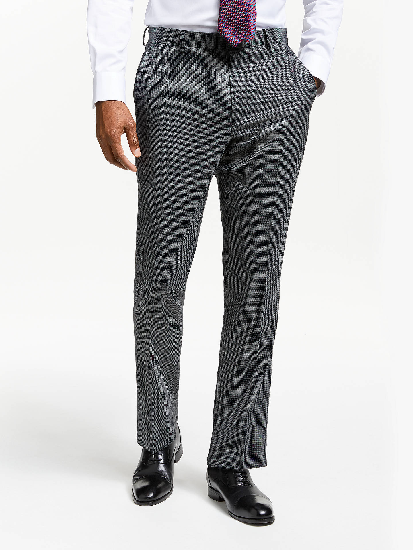 86ec8bd901e0 Buy John Lewis   Partners Wool Puppytooth Slim Fit Suit Trousers