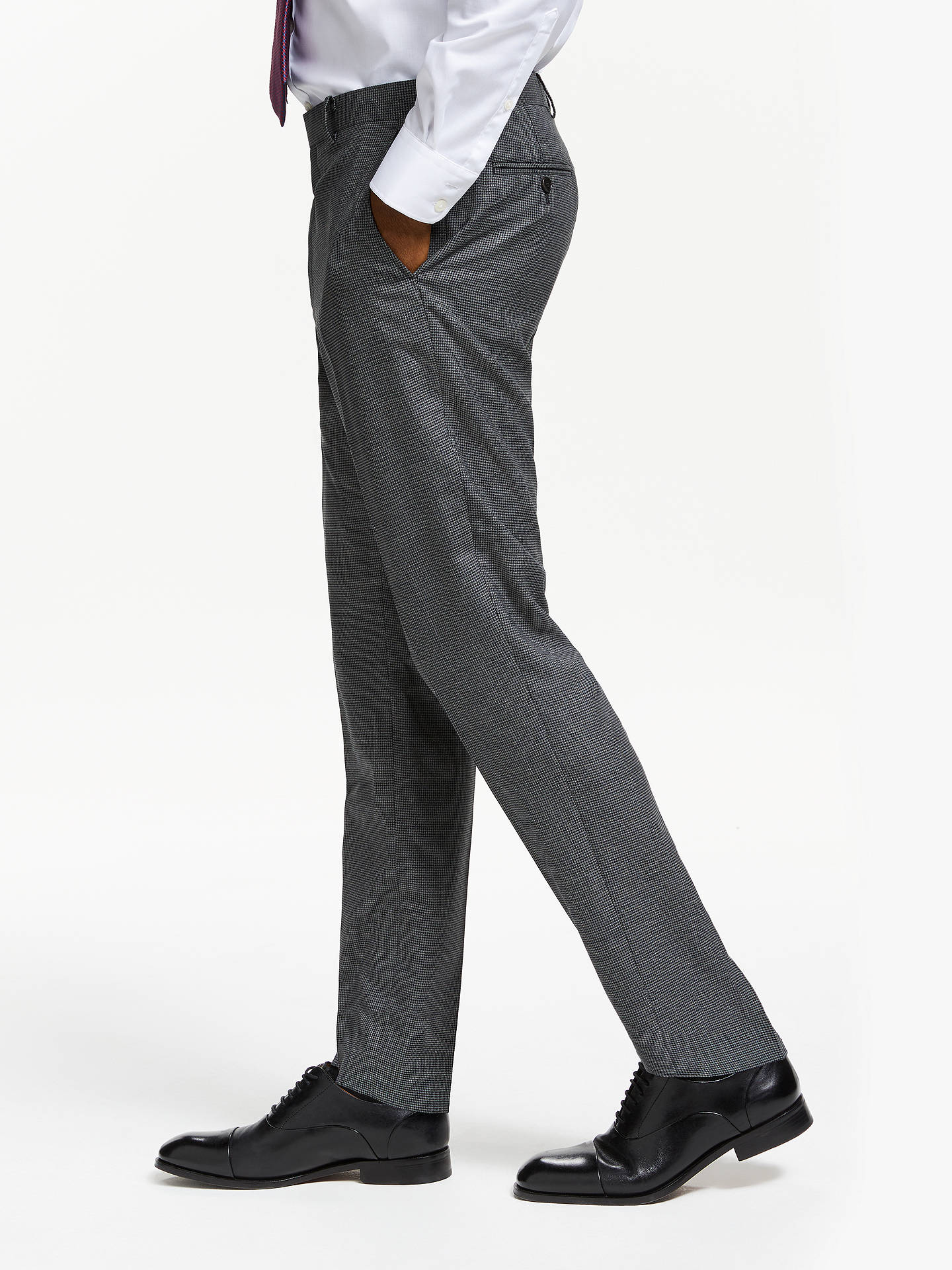64a8ad542bf9 ... Buy John Lewis   Partners Wool Puppytooth Slim Fit Suit Trousers