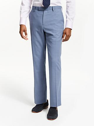 John Lewis & Partners Tailored Suit Trousers, Airforce Blue
