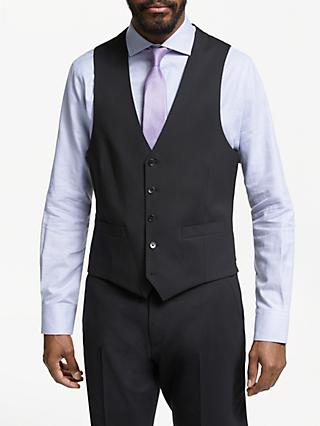 John Lewis & Partners Tailored Waistcoat, Black