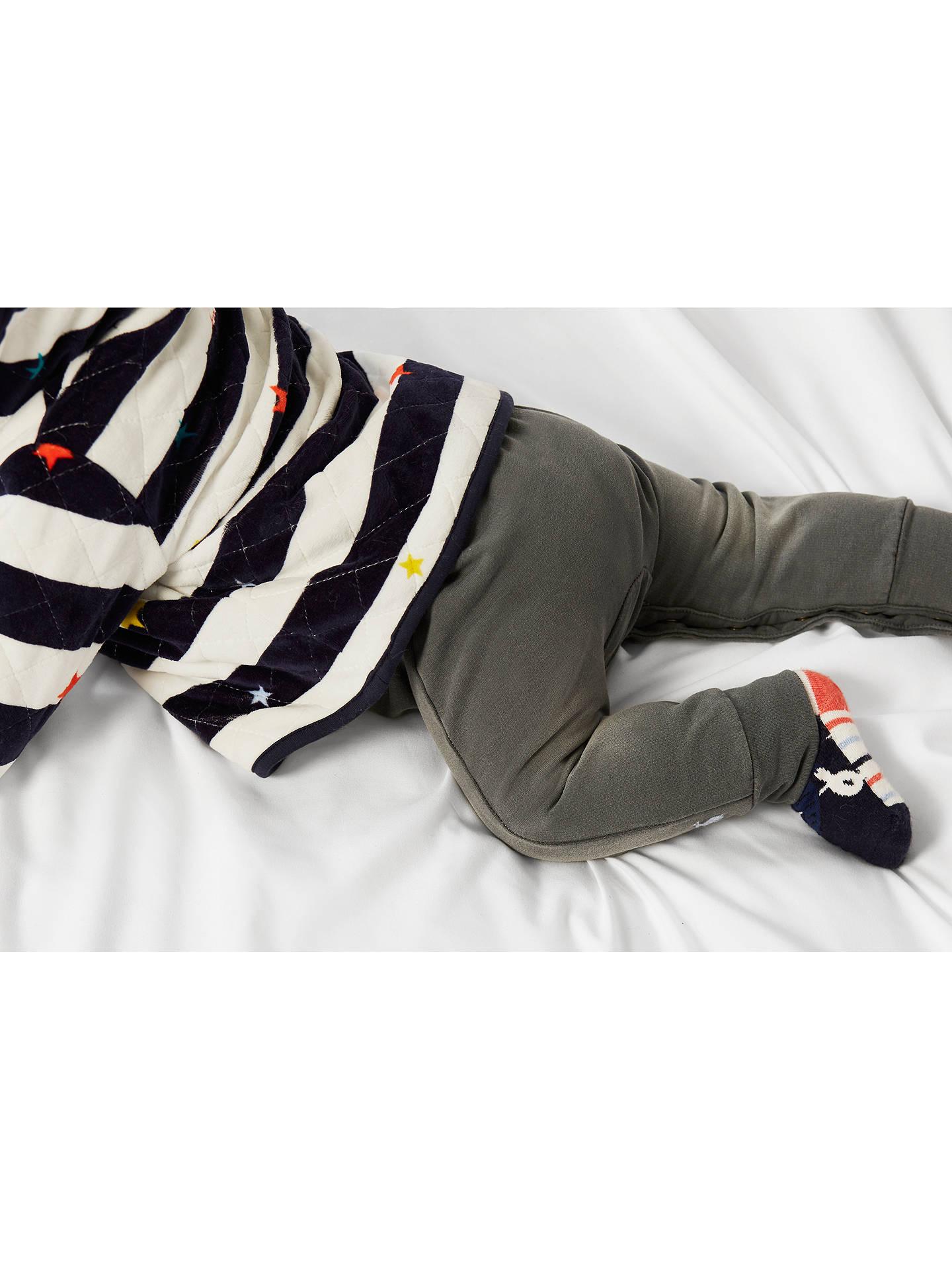 Joules Baby Alex Velour Quilted Hooded Jacket NEWBORN in  Size Newborn
