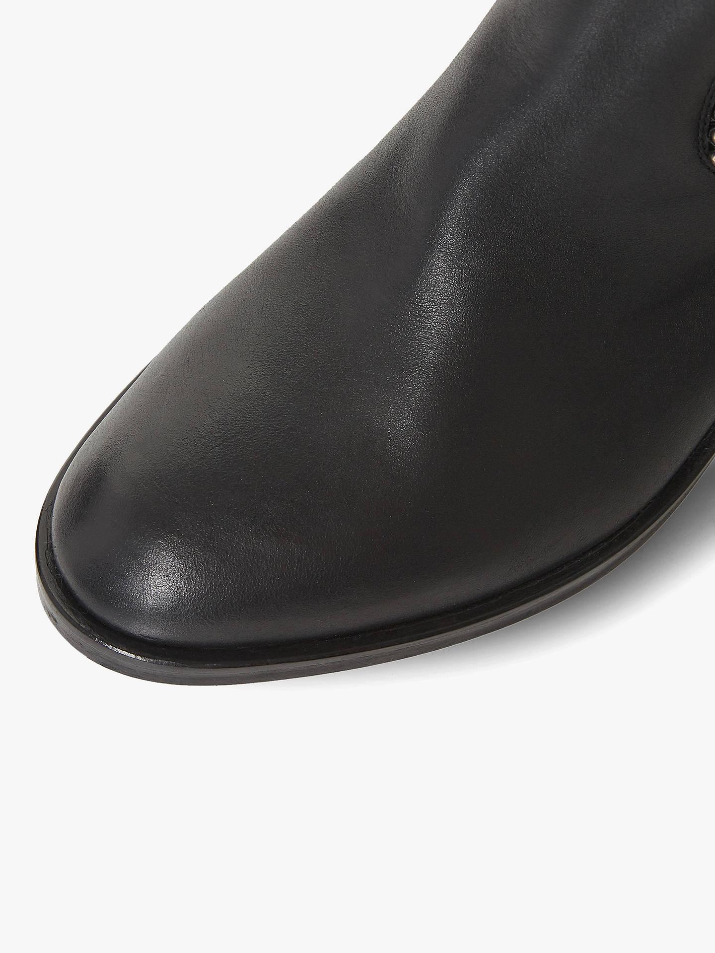78be20f1f3b ... Buy Dune Black Teddie Block Heel Knee High Boots