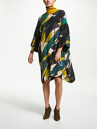 Kin Abstract Print Oversized Dress, Multi