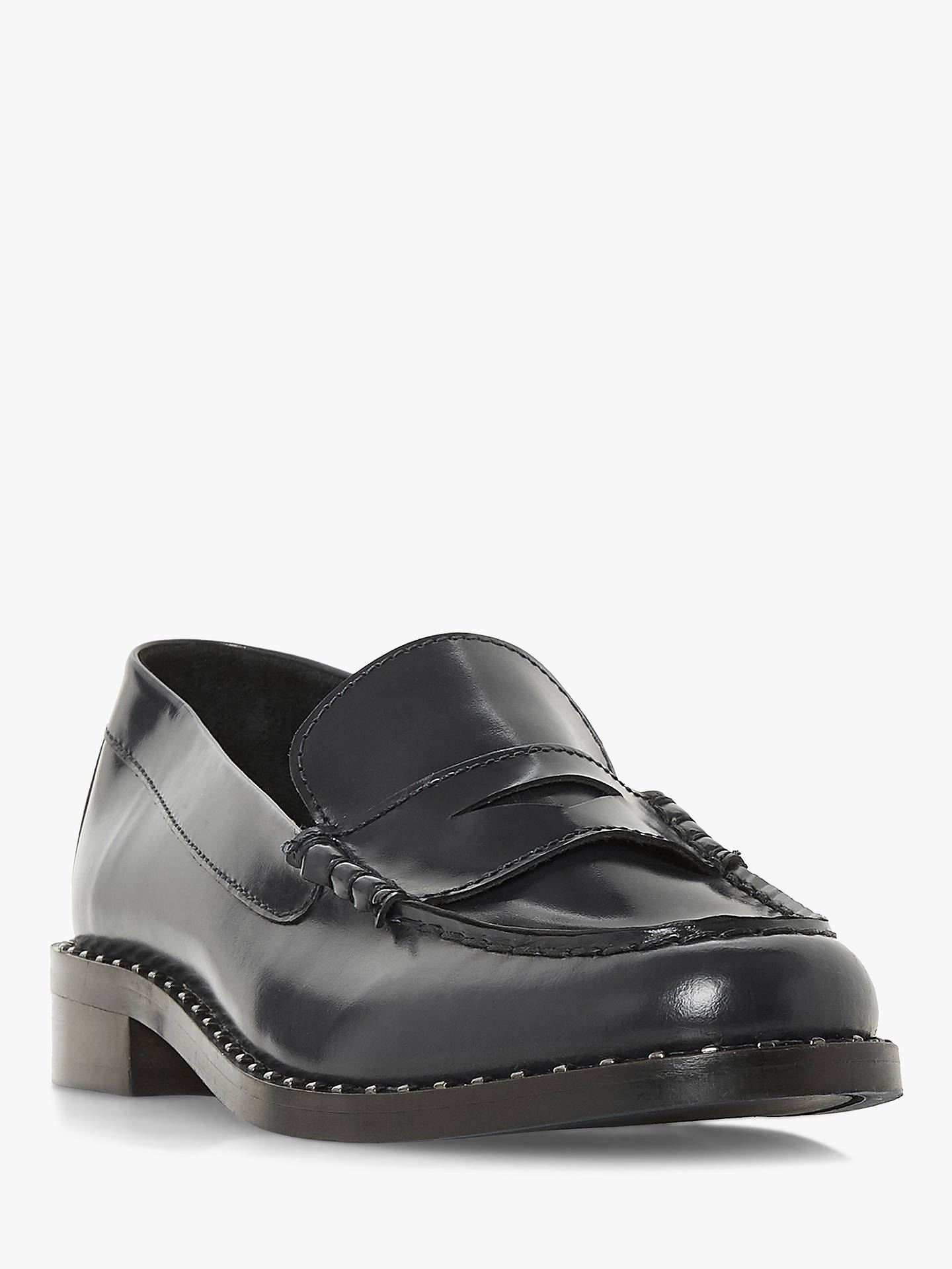 BuyBertie Graydon Loafers, Black, 3 Online at johnlewis.com