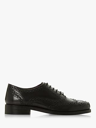 Bertie Forrce Leather Lace Up Brogues