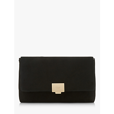 Dune Bellairs Suede Clutch Bag