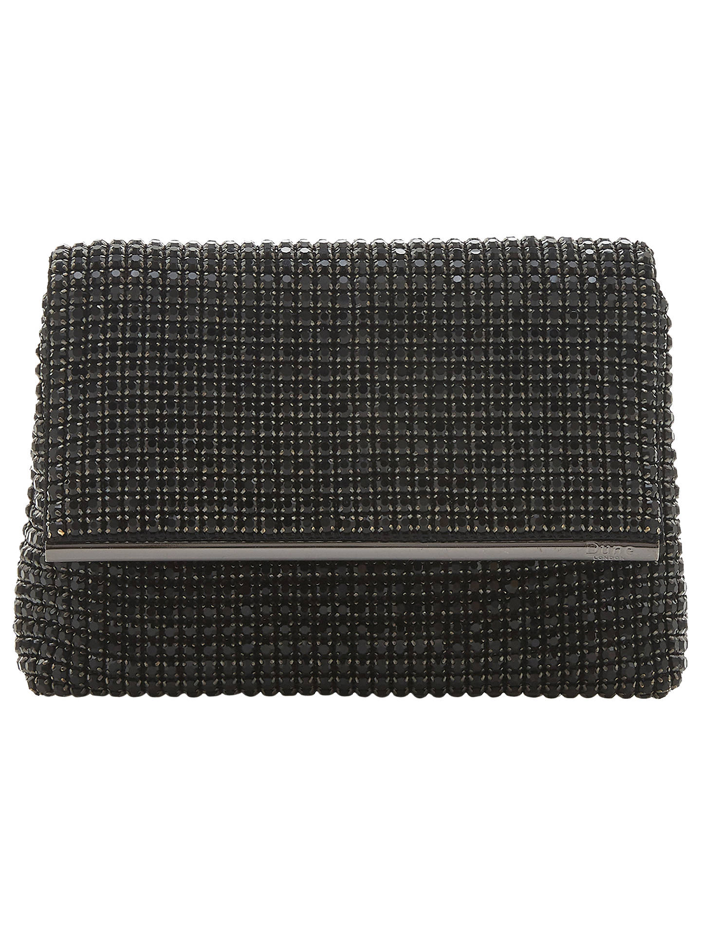 964dcfcc06e1 Dune Everlina Diamante Embellished Clutch Bag at John Lewis   Partners