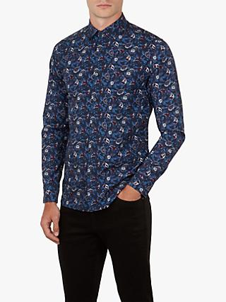 Ted Baker Jonpay Long Sleeve Printed Shirt