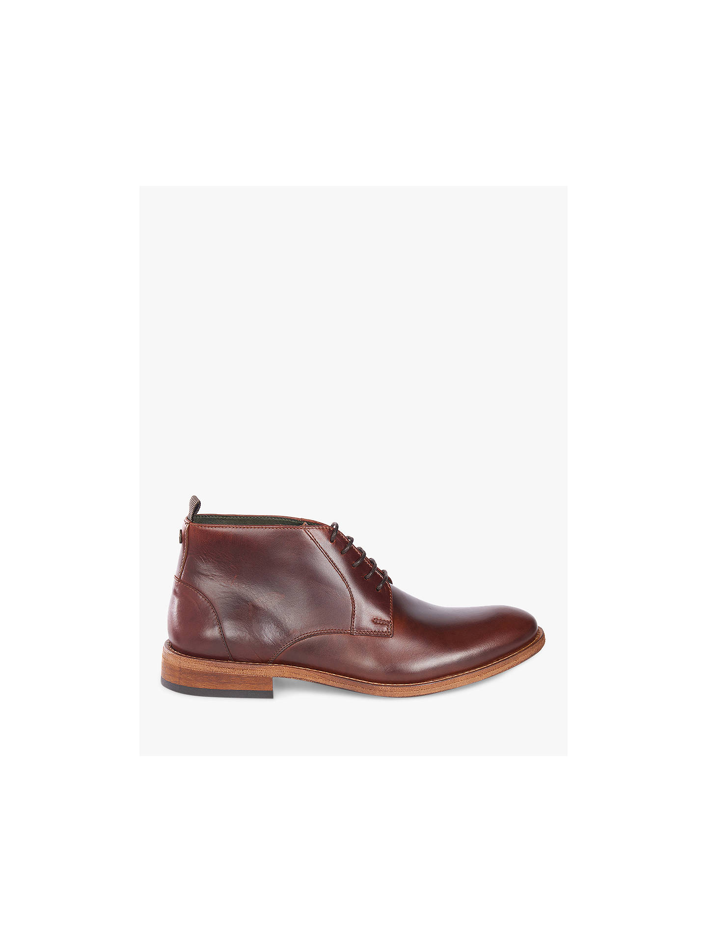 BuyBarbour Benwell Chukka Boots, Red, 7 Online at johnlewis.com