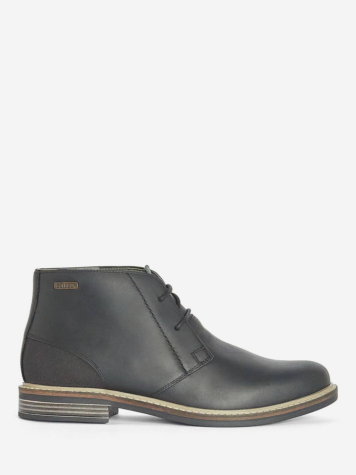 e4ca96bf797 Barbour Redhead Lightweight Chukka Boots, Black