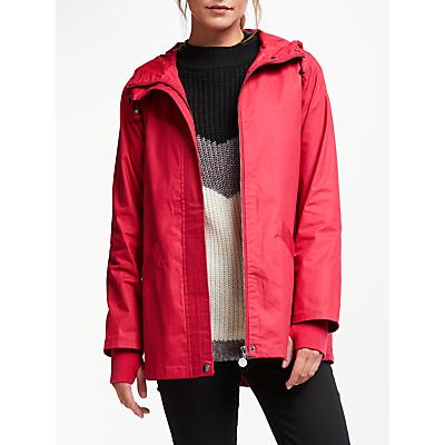 Thought Illia Organic Cotton Coat, Soft Red